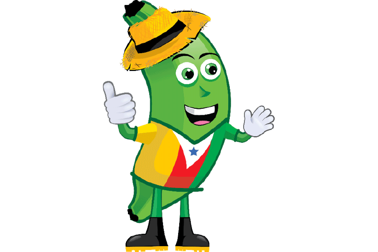 Mascota de la ciudad (Don Platanito)